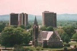 UMass Campus in the Summer