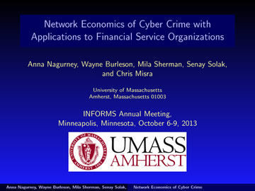 INFORMS 2013