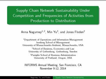 INFORMS 2014